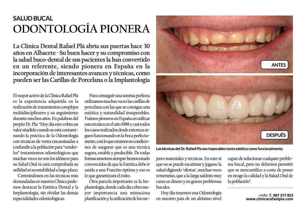 Entrevista del Dr. Pla en la revista Hoy Corazón