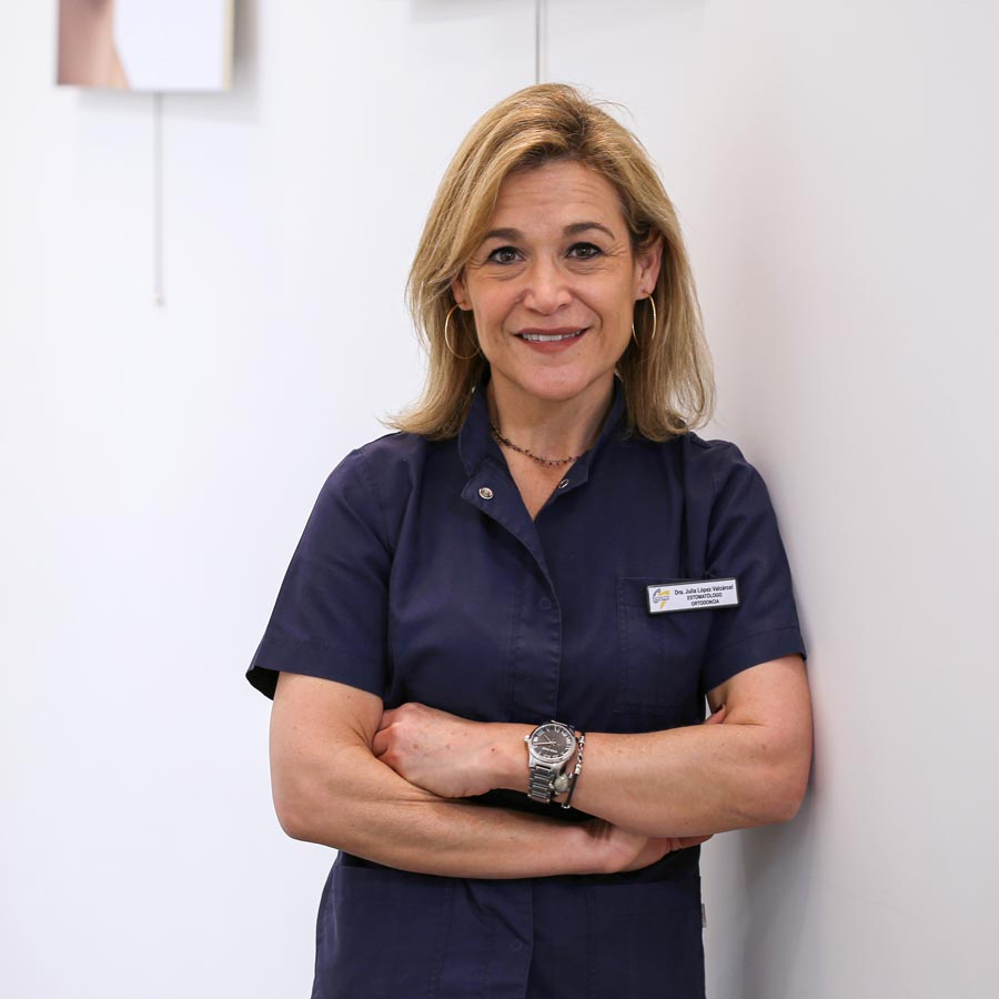 Julia López Valcárcel, ortodoncia