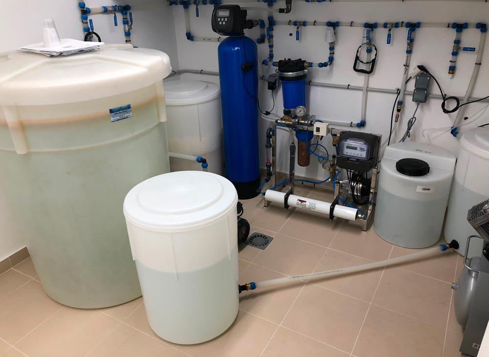 La importancia del agua en una clínica dental
