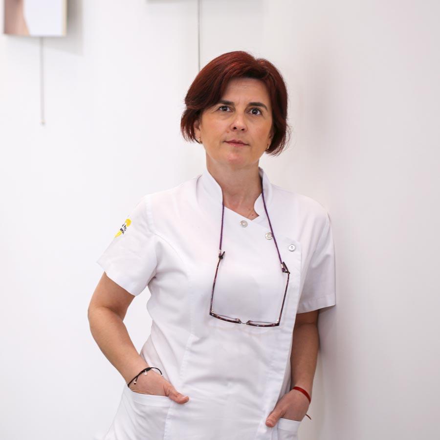 Mari Carmen Jiménez, técnico auxiliar