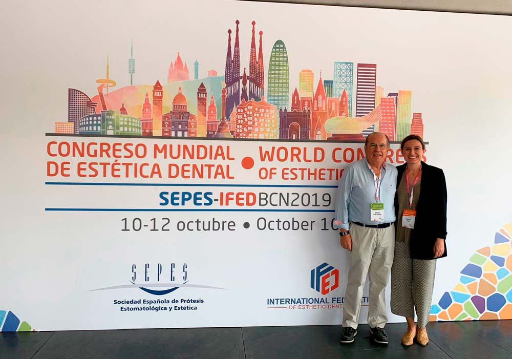 Rafael Pla y Marta Pla, en SEPES-IFED BCN 19'.