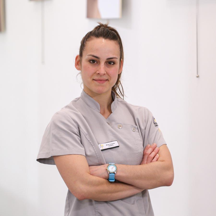 Miriam Fernández, higienista