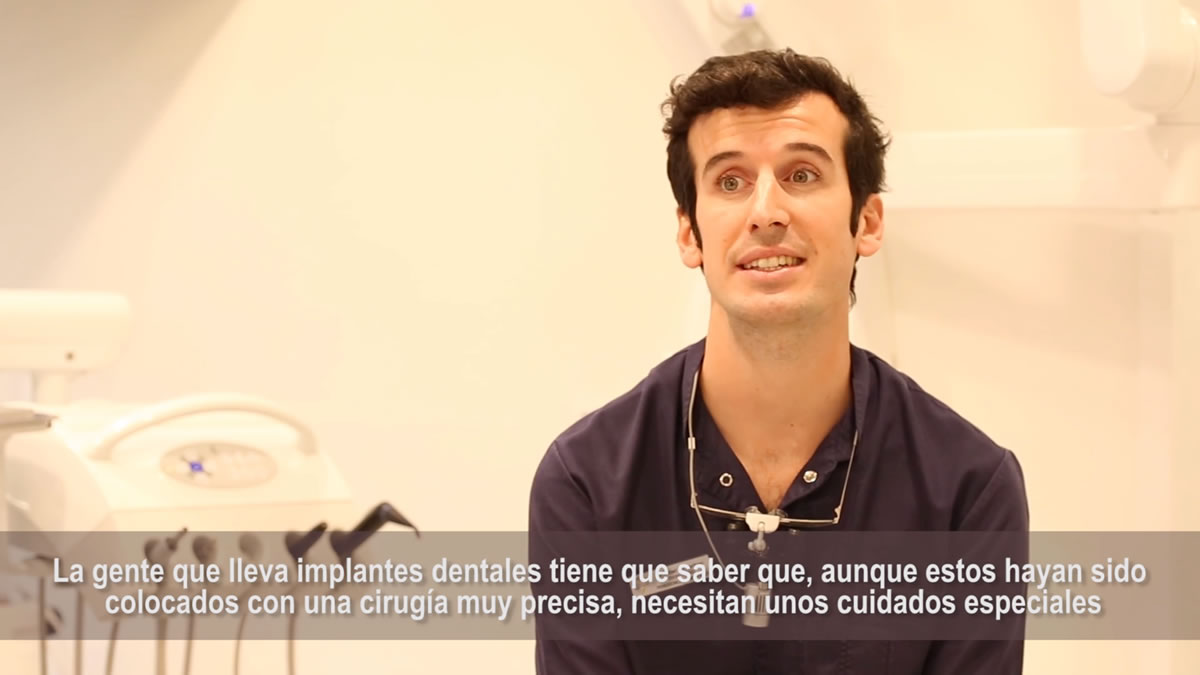 Vídeo implantes dentales